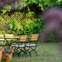 Garten der Pension zum Birnbaum